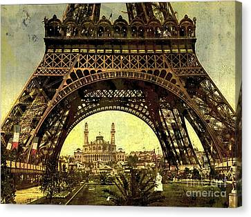 Eiffel Tower 1900 Canvas Print