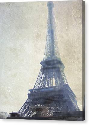Eiffel Tower Canvas Print by Catherine Alfidi