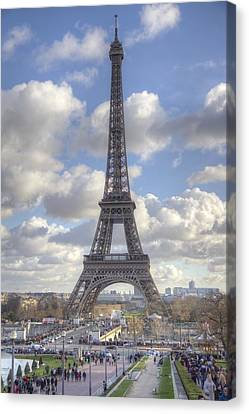 Trocadero Canvas Print - Eiffel Tower by Chris Coleman