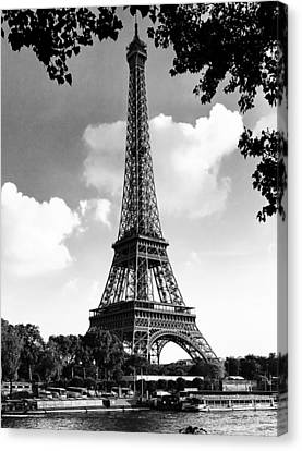Eiffel Tower Canvas Print by Contemporary Art