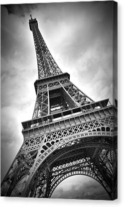 Broadcast Canvas Print - Eiffel Tower Dynamic by Melanie Viola