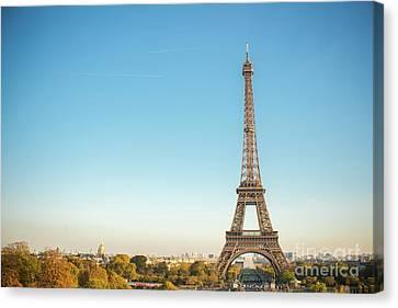Eiffel Tower In The Sun Canvas Print