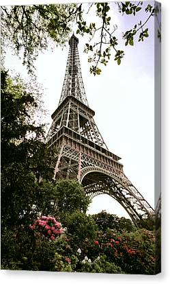 Eiffel Tower Canvas Print by Joe Bonita