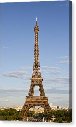 Broadcast Canvas Print - Eiffel Tower by Melanie Viola