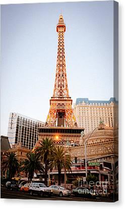 Eifel Canvas Print - Eiffel Tower Nevada by Andy Smy