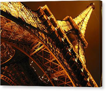 Eiffel Tower Paris France Canvas Print by Gene Sizemore