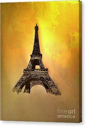 Eiffel Tower, Paris France Canvas Print