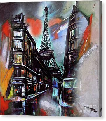 Eiffel Tower Paris Canvas Print by Gull G
