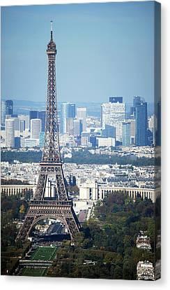 Eiffel Tower Canvas Print by Photo by Daniel A Ferrara