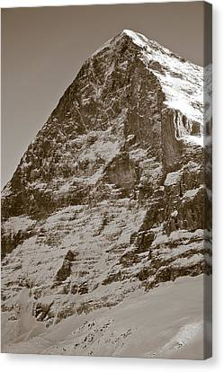 Eiger North Face Canvas Print by Frank Tschakert