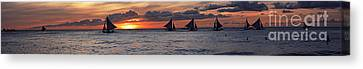 Eight Sailer Canvas Print