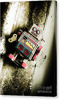 Eighties Cybernetic Droid  Canvas Print by Jorgo Photography - Wall Art Gallery