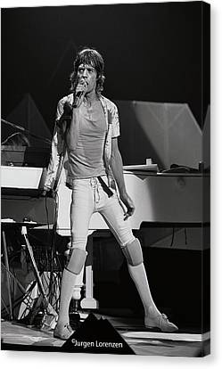 Eighties Mick Canvas Print by Jurgen Lorenzen