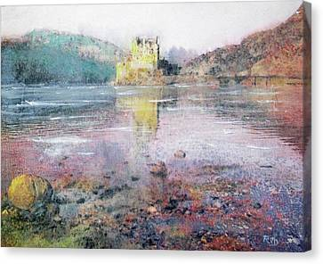 Eilean Donan Castle  Canvas Print by Richard James Digance