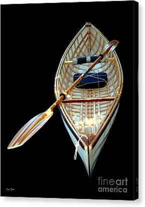 Eileen's Canoe Canvas Print