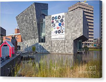 Eindhoven Museum Canvas Print by Andre Goncalves