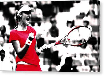 Ekaterina Makarova      Canvas Print by Brian Reaves
