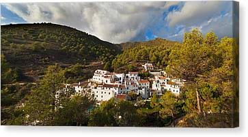 El Acebuchal,the Lost Village Canvas Print by Panoramic Images