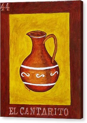 El Cantarito Canvas Print