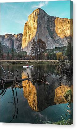 El Capitan Sunset Canvas Print
