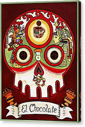 El Chocolate - The Chocolate Canvas Print