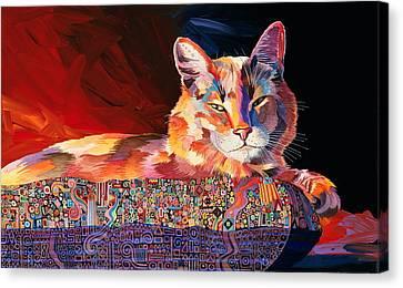 El Gato Sonata Canvas Print
