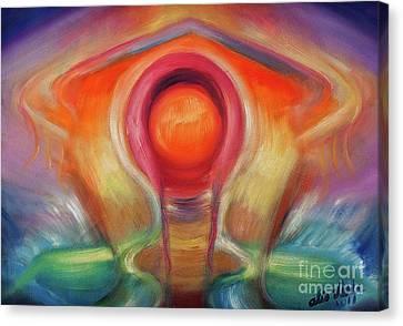 El Hongo Canvas Print by Aliosha Valle