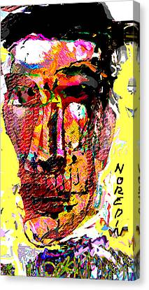 El Matador Canvas Print by Noredin Morgan
