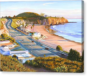 El Morro Trailer Park Canvas Print by Steve Simon