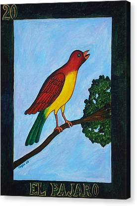 El Pajaro Canvas Print by Manny Chapa