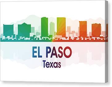 El Paso Tx Canvas Print