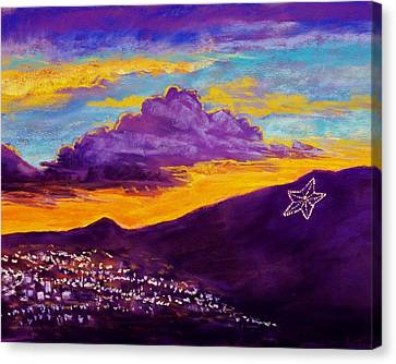 El Paso's Star Canvas Print by Candy Mayer