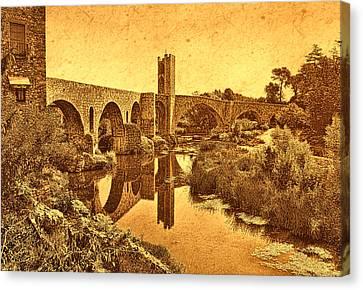 El Pont Viel Canvas Print