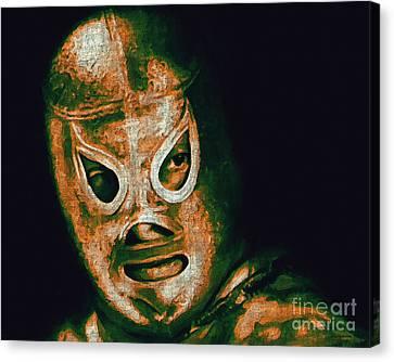 El Santo The Masked Wrestler 20130218 Canvas Print