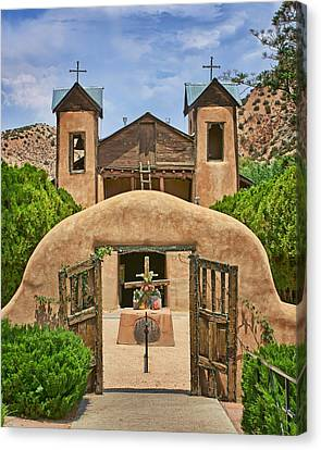 El Santuario De Chimayo #2 Canvas Print by Nikolyn McDonald