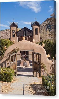 El Santuario De Chimayo Church Canvas Print