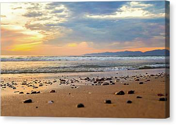 Canvas Print featuring the photograph El Segundo Beach by April Reppucci