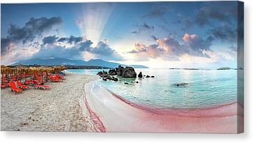 Elafonissi Beach Canvas Print by Evgeni Dinev