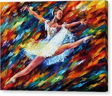 Elation Canvas Print by Leonid Afremov