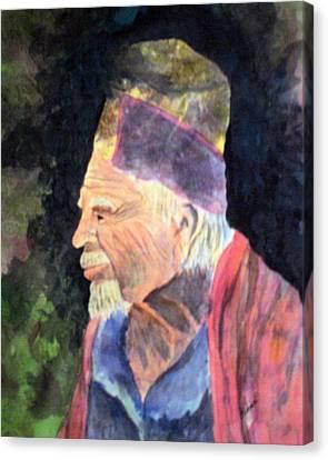 Elder Canvas Print by Susan Kubes