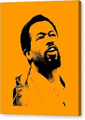 Black Panther Party Canvas Print - Eldridge Cleaver by Otis Porritt