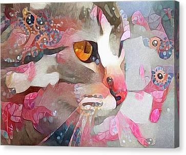 House Pet Canvas Print - Electra by Susan Maxwell Schmidt