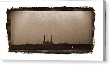 Electric Avenue Canvas Print by Thomas Bomstad
