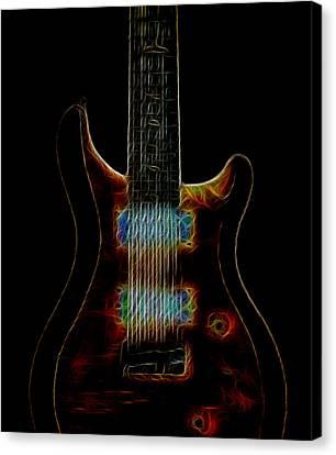 Electric Blues Canvas Print