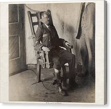 Electric Chair, 1908 Canvas Print by The Branch Librariesnew York Public Library