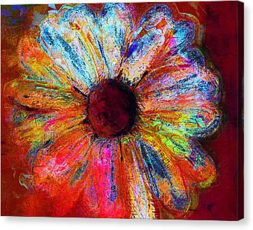 Electric Daisy Canvas Print