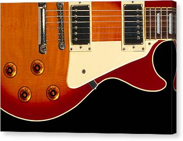 Electric Guitar 4 Canvas Print by Mike McGlothlen