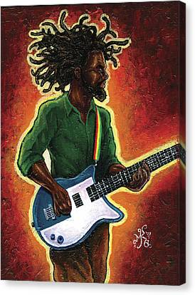 Electric Canvas Print by Marcus Anderson