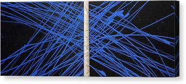 Electric Media Canvas Print by CJ  Smalls