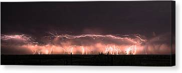 Electric Panoramic IIi Canvas Print